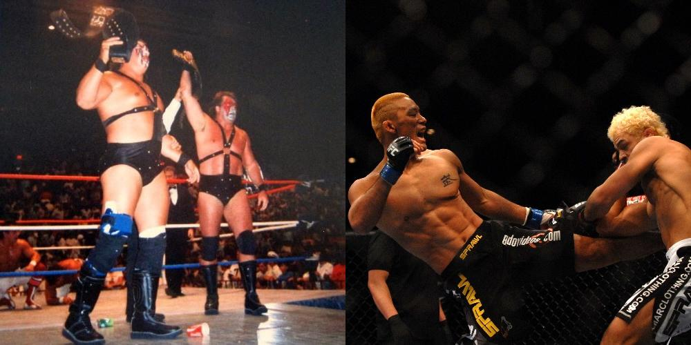 WWF vs UFC