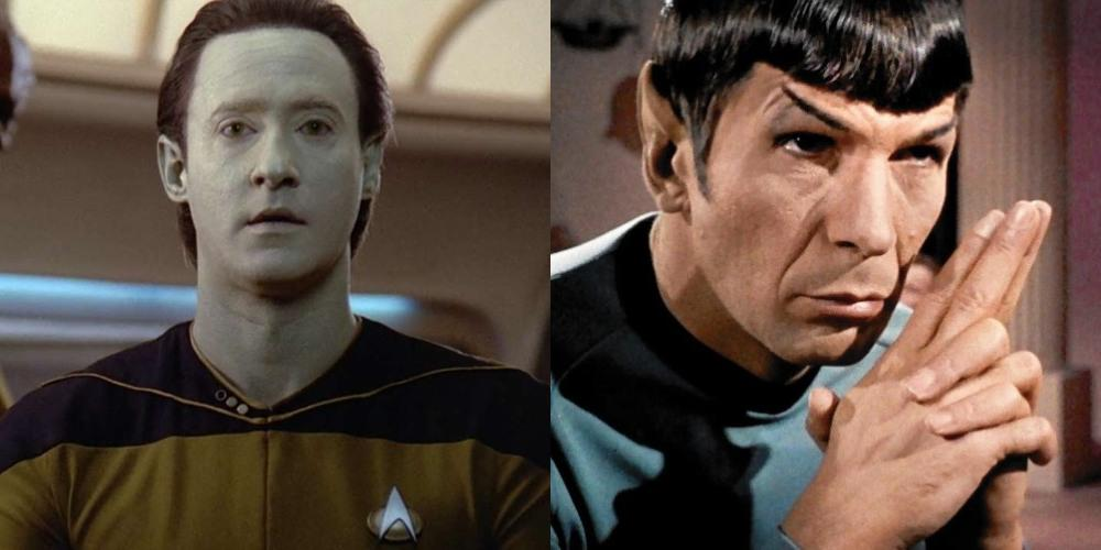 Data vs Spock