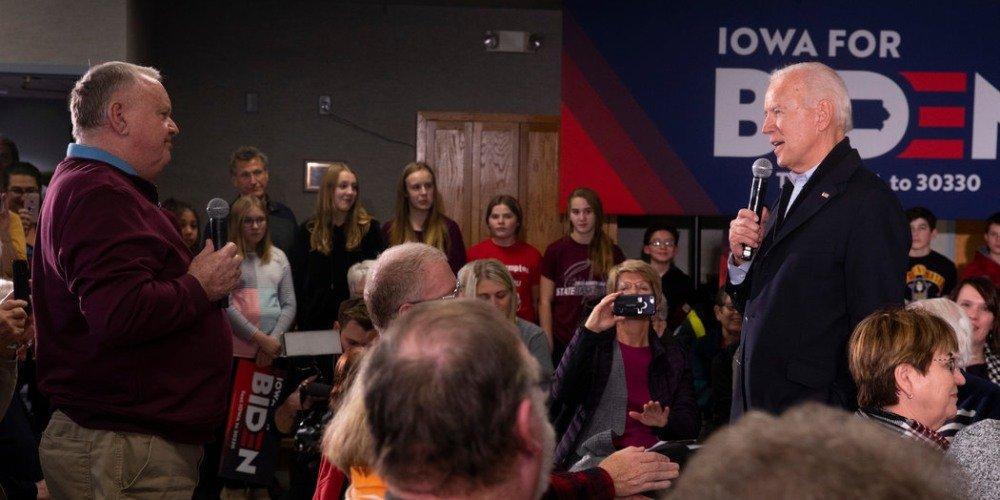 Iowa Man vs Joe Biden