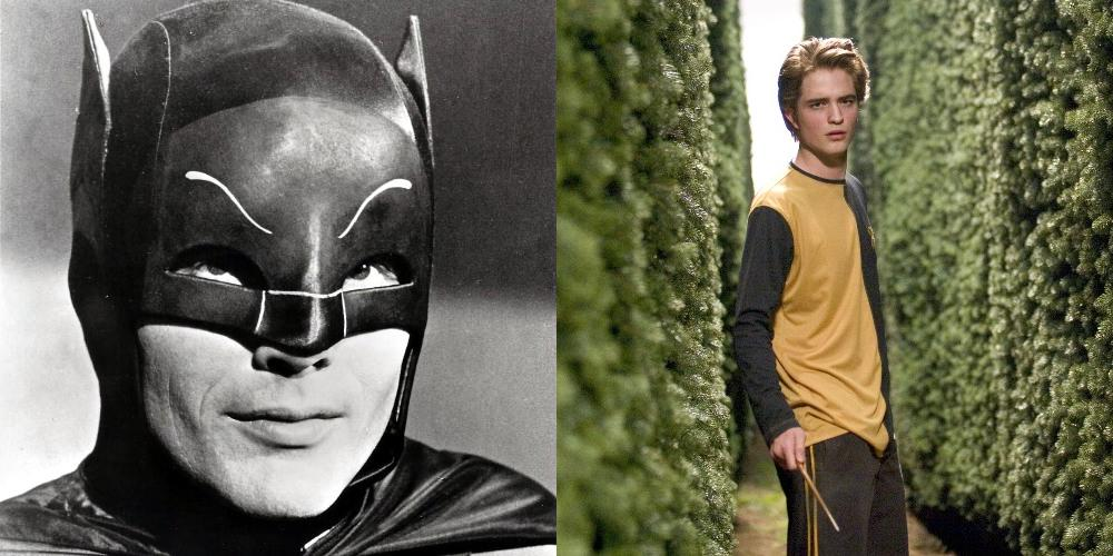 Adam West vs Robert Pattinson